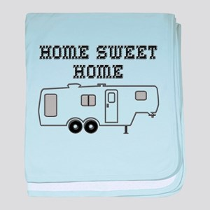 Home Sweet Home Fifth Wheel baby blanket