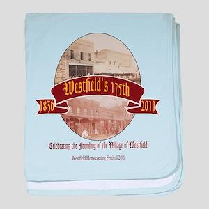Westfield Homecoming Festival baby blanket
