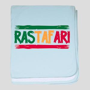 Rastafari baby blanket