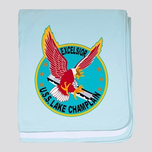 Air Carrier Wing baby blanket