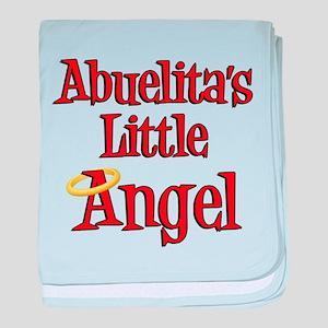 Abuelita's Little Angel baby blanket
