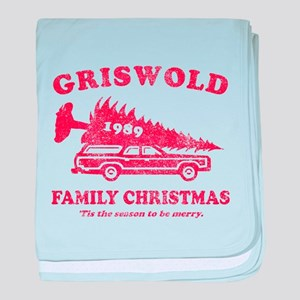Griswold Family Christmas 198 baby blanket