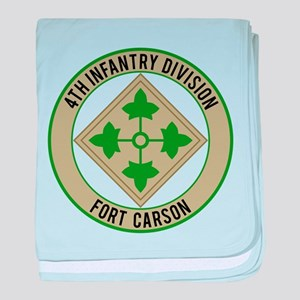4th Infantry post baby blanket