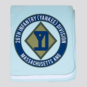 26th Infantry Mass ANG baby blanket