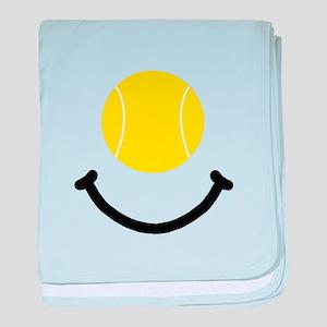 Tennis Smile baby blanket