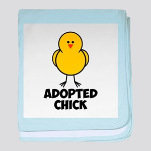 Adopted Chick baby blanket