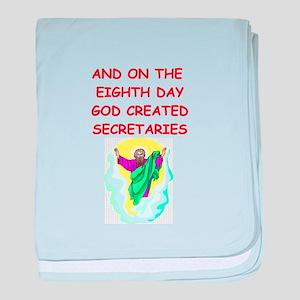 secretaries baby blanket