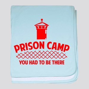 Prison Camp baby blanket