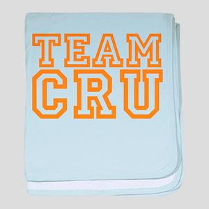 TEAM CRU baby blanket