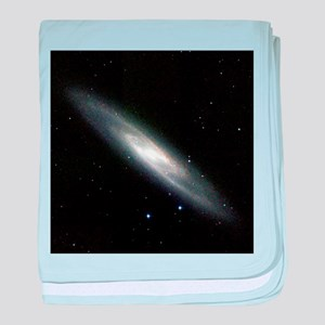 Spiral galaxy NGC 253 - Baby Blanket