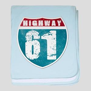 Highway 61 baby blanket
