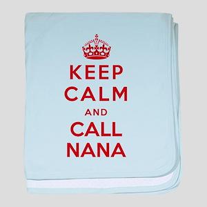 Call your Nana baby blanket