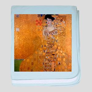 Klimt Portrait of Adele Bloch-Bauer baby blanket