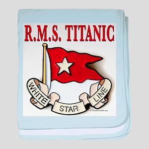 White Star Line: RMS Titanic baby blanket