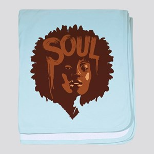 Soul Fro baby blanket