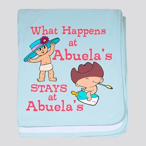What Happens at Abuela's baby blanket