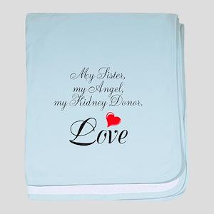 My Sister, my Angel baby blanket