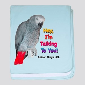 Hey, I'm talking to you! LOL baby blanket