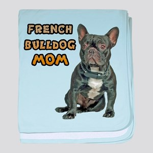 French Bulldog Mom baby blanket