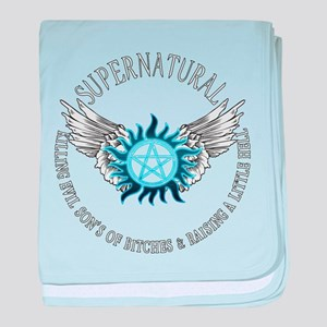Supernatural protection Symbal Wings 03 baby blank