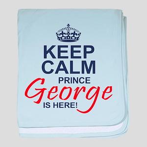 Prince George is Here baby blanket
