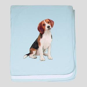 Beagle #1 baby blanket