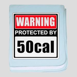 Warning 50cal baby blanket