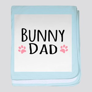 Bunny Dad baby blanket