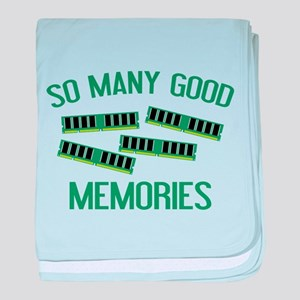 So Many Good Memories baby blanket