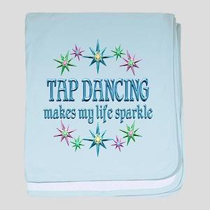 Tap Dancing Sparkles baby blanket