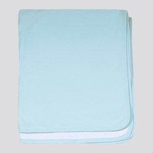 Turquoise Supercar baby blanket