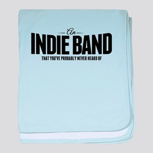 An Indie Band baby blanket