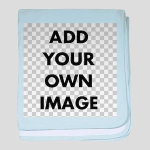 Custom Add Image baby blanket