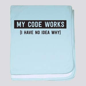 My code works no idea why baby blanket
