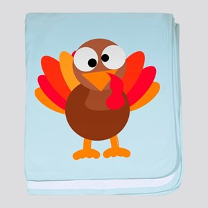 Funny Turkey baby blanket