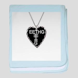 Black Heart Eethg Corps Inc baby blanket