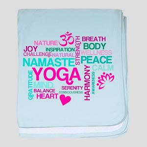 Yoga Inspirations baby blanket