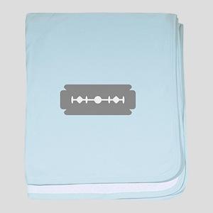 Razor blade baby blanket