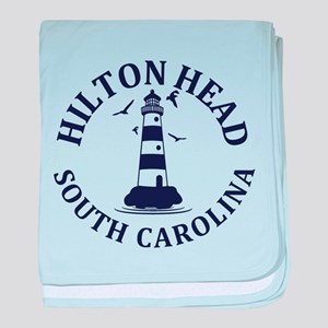 Summer hilton head- south carolina baby blanket
