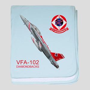 vfA102logo10x10_apparel copy baby blanket
