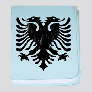 albania_eagle_distressed baby blanket