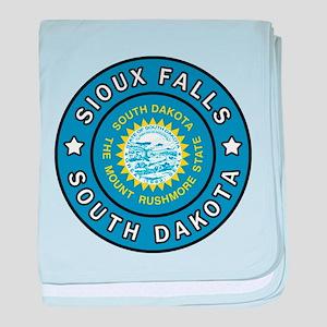 Sioux Falls South Dakota baby blanket