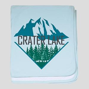 Crater Lake - Oregon baby blanket