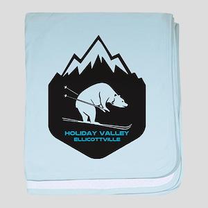 Holiday Valley - Ellicottville - Ne baby blanket