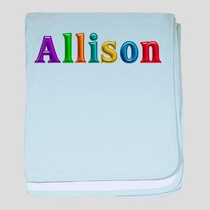 Allison Shiny Colors baby blanket