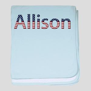 Allison Stars and Stripes baby blanket