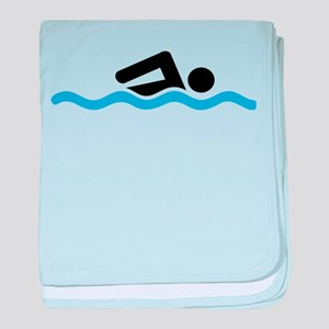 swimming baby blanket