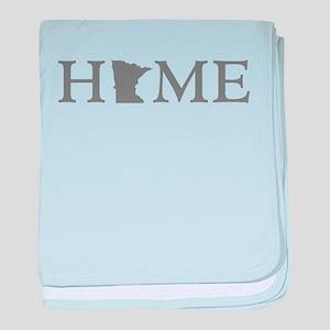 Minnesota Home baby blanket
