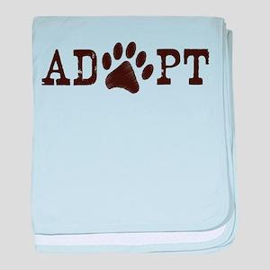 Adopt an Animal baby blanket