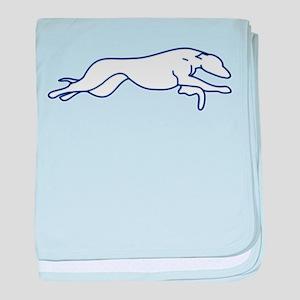 More Random Greyhound Stuffs! baby blanket